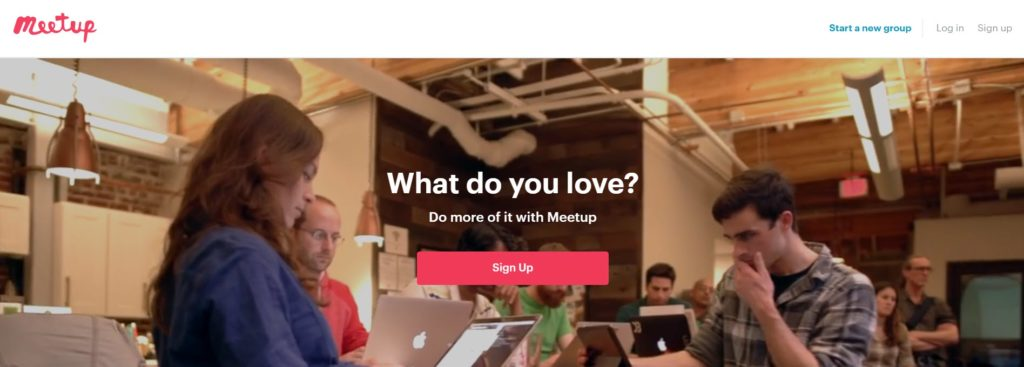 networking apps - Meetup